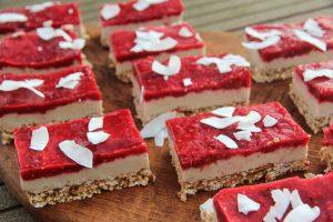 Himbeere-Cheesecake