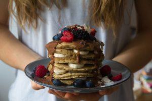 Lupinen Pancakes