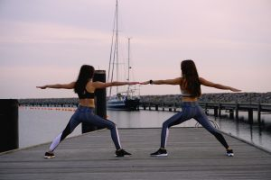 Yoga Warrior II