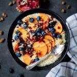 Porridge mit Zucchini