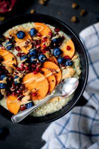 Veganes Porridge, Zoats