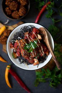 Vegane Quinoa Bällchen
