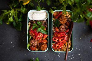 Quinoa-Salat vegan