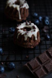 Schokoladiger Mini-Gugelhupf