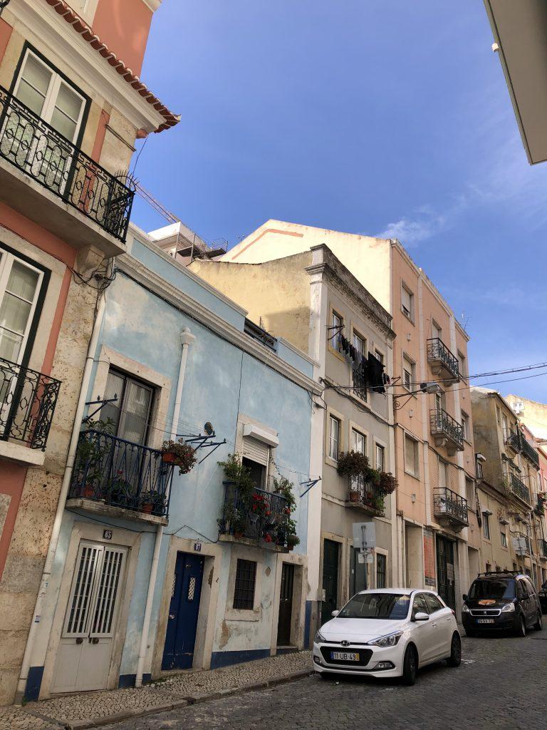 Lissabon Häuser