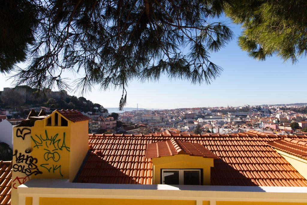 Miradouro da Graca Lissabon