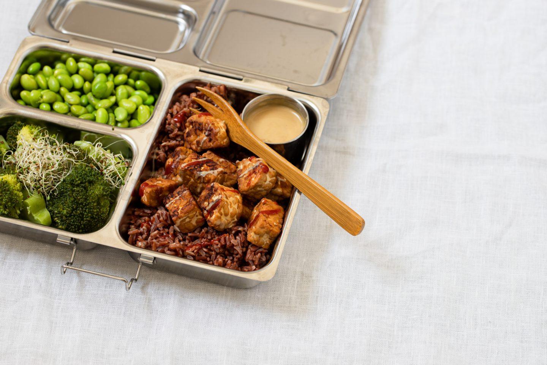 Vegane Tempeh Lunchbox