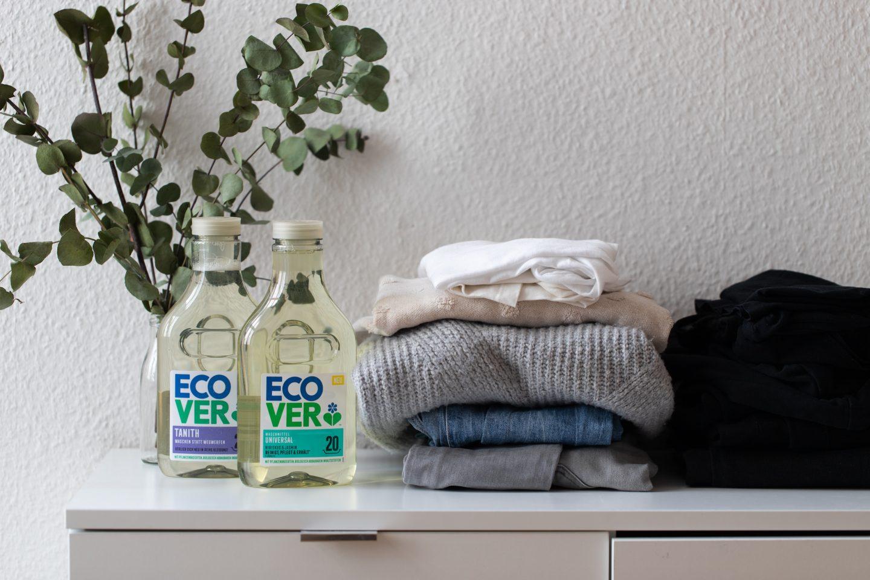 Ecover Waschmittel und Secondhand