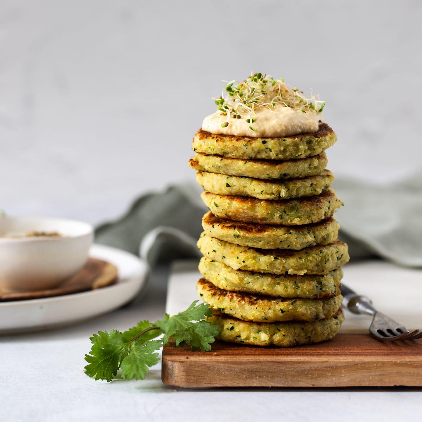 Monatsfavoriten: Rezept für Kartoffel-Zucchini-Puffer