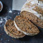 Glutenfreies Brot auf Reismehl-Basis